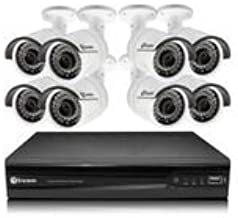 Swann SWNVK-873008 NVR8-7300 8 Channel Network Video Recorder & 8 x NHD-815 3MP Cameras (White)