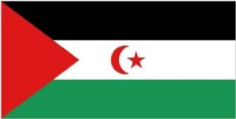 Westelijke Sahara Vlag 150cm x 90cm
