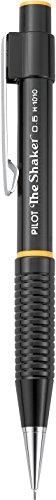PILOT The Shaker Mechanical Pencil, Black Barrel, 0.5mm HB Lead, Single Pencil (50026)