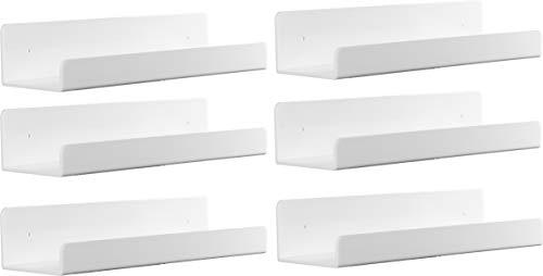 Estantería De Pared Blanco  marca Cq acrylic
