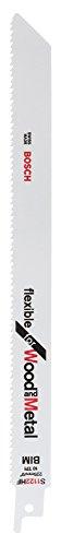 Bosch Professional 2 unidades Hoja de sierra sable S 1122 HF Flexible...