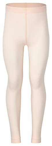 tanzmuster Kinder Ballett Strumpfhose Nina ohne Fuß und ohne Zwickel in rosa-apricot - 116-128