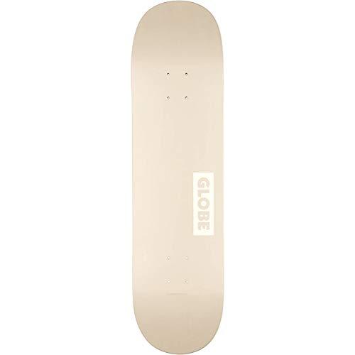 Globe Goodstock Skateboard, Erwachsene, Unisex, Weiß (Off White), 8.0