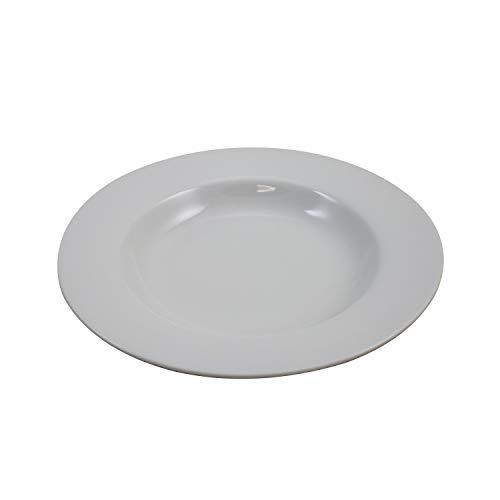 Retsch Arzberg 190071211 Classico Suppenteller Ø 21,5 cm, weiß (1 Stück)