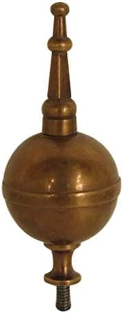 18th Century Federal Style Brass low-pricing Finial Clock Shipping included