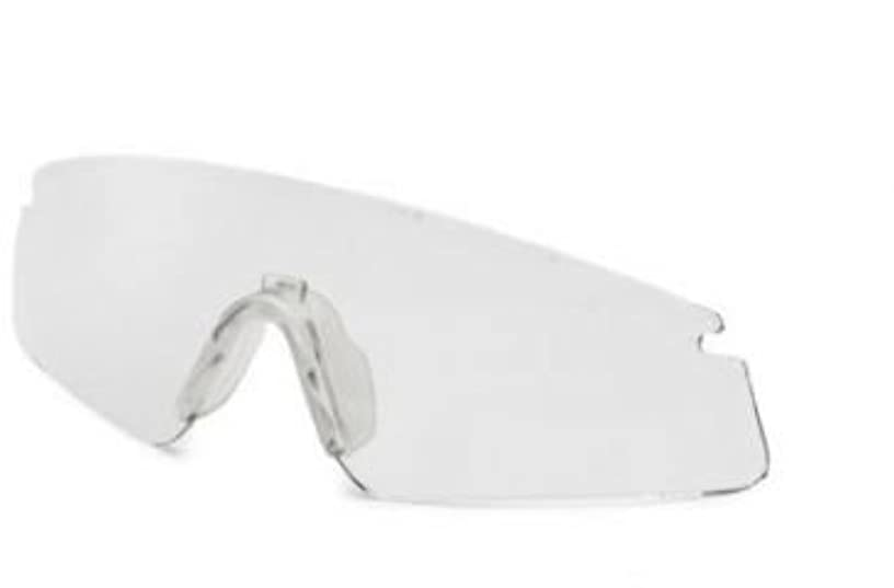 Revision Military Sawfly Eyewear Clear (10 Pack) Replacement Lens, Large