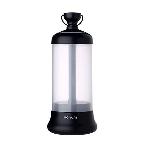 HANMOU Lámpara de viaje para coche, lámpara de campamento, lámpara LED, lámpara de emergencia, lámpara exterior, lámpara de camping, lámpara de escritorio, color negro, 3 cm × 8 cm × 21 cm