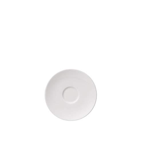 Soucoupe pour Tasse à Expresso et Moka Thomas Vario Pure, Ronde, Porcelaine, Blanc, Compatible Lave-Vaisselle, 12 cm, 14721