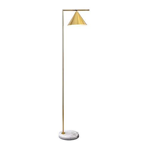 Vloerlamp - Scandinavische creatieve slaapkamer woonkamer studie moderne minimalistische slaapkamer nachtlampjes, goud 12-23