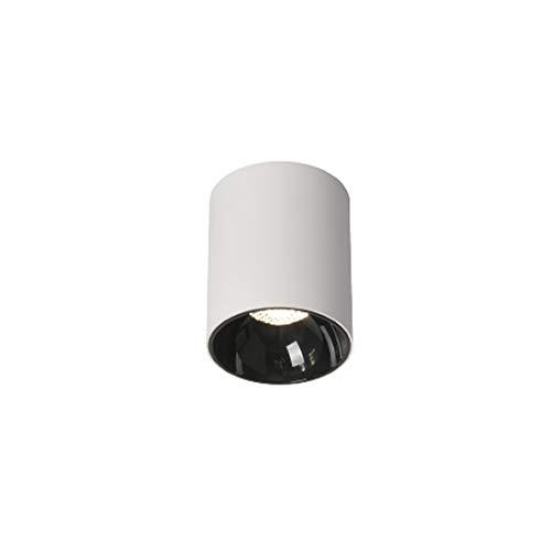 Ayyayy Downlight: Focos de Techo LED montados en Superficie, Sala de Estar y Dormitorio Iluminación de Pared de Fondo Minimalista nórdico Foco de Techo de Entrada del Pintor, luz Natural