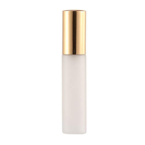 10ml Mini Travel-Use Refillable Parfum Toner Water Glass Atomizer Empty Spray Bottle Dispenser - Black/Golden/Silver