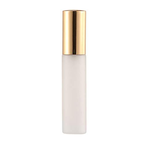 Garretlin - Flacon vaporisateur en aluminium anodisé dépoli - 10 ml - Mini flacon de parfum de voyage portable rechargeable - Flacon vaporisateur vide Taille unique doré