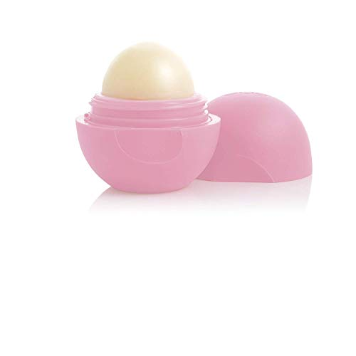 eos Smooth Lip Balm Sphere, Strawberry Sorbet 0.25 oz (Pack of 10)