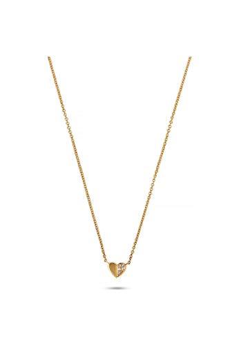 CHRIST Damen-Kette 5 Diamant One Size Gelbgold 32010432