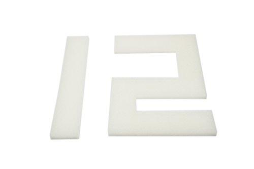 LTWHOME Compatible en Mousse Filtration Convient pour Interprété PF4 Interne Filtres(Paquet de 12)