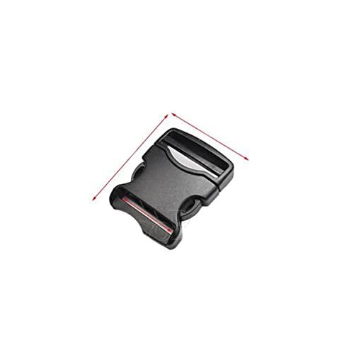 Correas de plástico hebilla liberación hebillas clip correa hombres táctico correa Paracord pulsera accesorios 20mm 25mm 32mm 38mm 50mm-1pc,WebbingSize 20mm