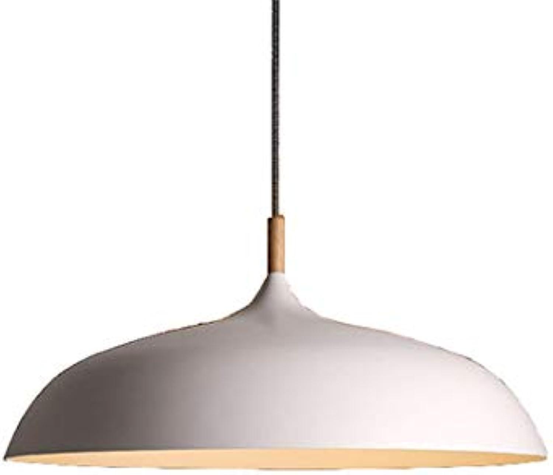 CSDM.AI Kronleuchter Vintage Nordic Modern Single-Head Kreatives Persnlichkeits Restaurant Einfacher Deckel Hngeleuchte Lampe (Wei, Schwarz),Weiß