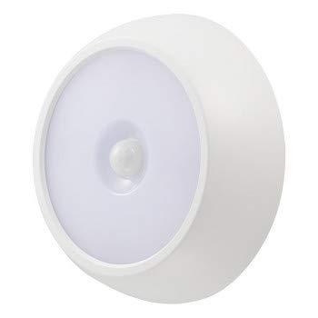 暗い場所で動きを検知して自動で点灯するLEDセンサーライト OHM LEDセンサーライト 明暗+人感 200lm 屋内/屋外兼用 NIT-BLA6JM-2 〈簡易梱包