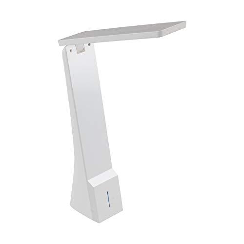 EGLO Tischleuchte, Plastik, Integriert, Weiß, 20 x 5 x 26 cm