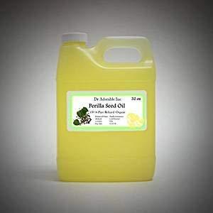 32 Oz / 1 Quart Premium Perilla Seed Oil Oil Pure Cold Pressed Organic