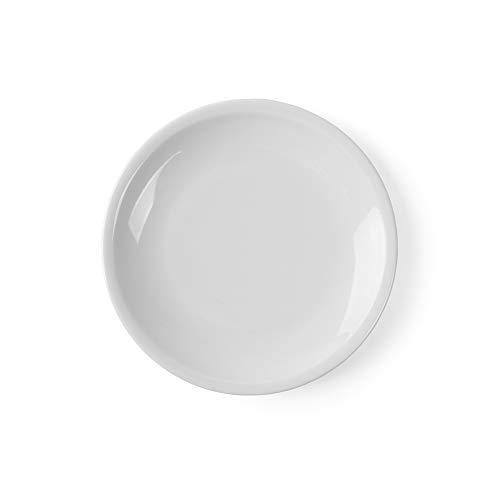 Holst Porzellan CT 019 Holst Porcelana, Plato Plano 19 cm Katja Blanco, 6 Piezas, 18.5 cm