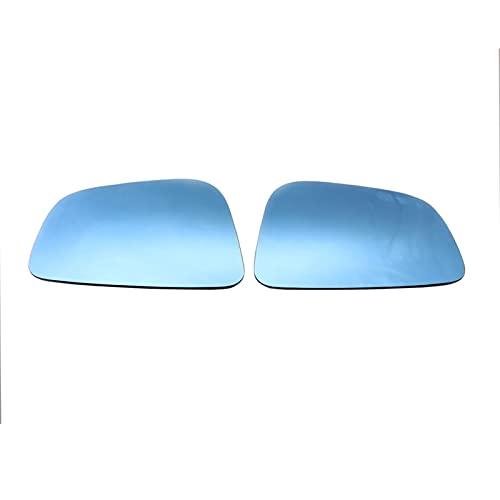 Funien Cristal del Espejo retrovisor, par de Vidrio de Espejo retrovisor Exterior de Repuesto para BMW G11 G12 G20 G21 G30 G31 F90