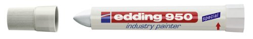 edding 4-950049 Spezialmarker 950 industry painter, 10 mm, weiß