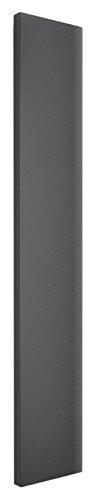 Wohnraum-Heizkörper Milano, Mittelanschluss, 180x45 cm, 805 Watt Leistung, anthrazit, Design-Heizkörper für Zweirohrsysteme