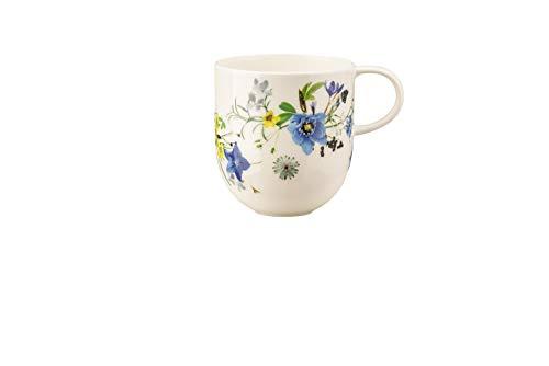 Rosenthal - Becher mit Henkel - Kaffeebecher - Brillance - Fleurs des Alpes - Porzellan - 340 ml