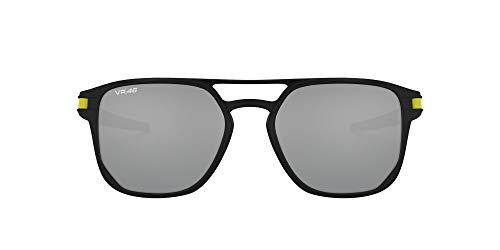 Oakley 0OO4128 Gafas de Sol, Matte Black, 53 para Hombre