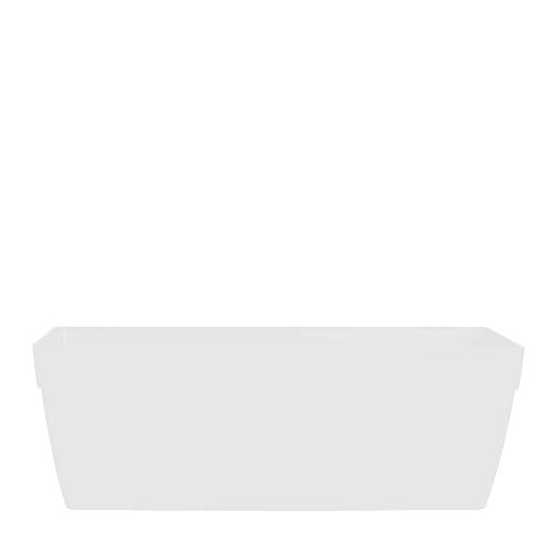 Vasart Sampa Vaso de Flores, Branco, 40x17cm, 1 Unidad