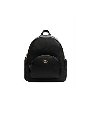 Coach Black Court Backpack