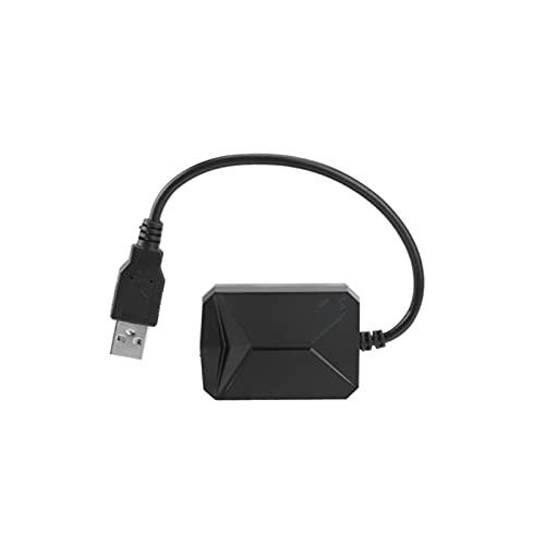 CAIBING ZHUJUNWEN Sistema de monitoreo de presión de neumáticos de 5 V Sistema de monitoreo de la presión de Android 4 sensores USB Androide TPMS Mostrar Sistema de Alarma (Color : Internal)