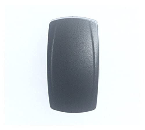 HUAJIN 50 unids/paquete, tapa de cubierta de interruptor basculante en blanco para interruptor basculante Arb Carling