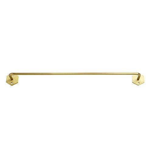 BXG Retro Simple Hogar Toallero de Oro Gancho Giratorio Sola Varilla Baño Europeo Viejo Baño Toalla Colgando Cuarto de Ducha, Nailless