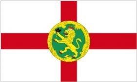 1000 Flags Alderney Channel Islands Flagge 150cm x 90cm