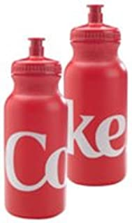 Coke Red Squeeze Water Bottle 20oz (2 Pack)
