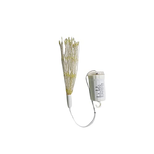 ZHANGNING String lights Firework String Light 180 Led Starburst Copper Silver Wire Fairy Light Decorative Light Remote Control Light String Rope light (Emitting Color : Warm White)
