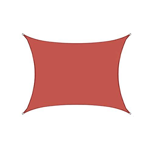 toldo que Toldo/vela De Sombra Impermeable El Toldo Toldo Que Vela De Sombra Tejido Oxford, Aislamiento Térmico Y Refrigeración, Hebilla En Forma De D De Cuatro Esquinas 90% De(Size:4*5M(13.1*16.4FT))