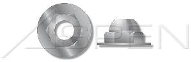 Zinc Die Cast #10-24 Acorn Cap Nuts Open End 1000 pcs Zamac #3 Zinc Alloy Washer Based