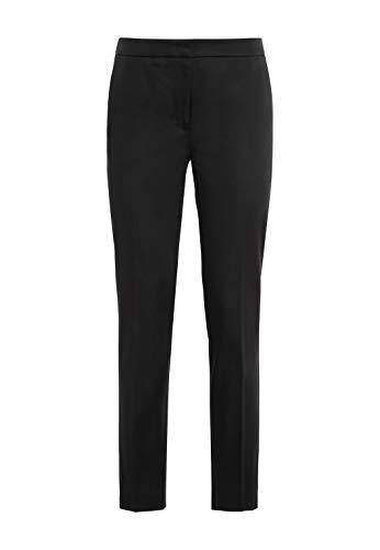 HALLHUBER Basic-Hose Charlotte mit Bio-Baumwolle schmal geschnitten schwarz, 44