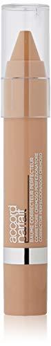 L'Oréal Paris Accord Parfait Correttore Cremoso Perfezionatore, Texture in Crema Facile da Applicare, 30 Beige
