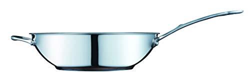 Masterchef Copperline 5-ply finitura a specchio in acciaio INOX pentole wok in acciaio INOX, 28cm, 27,9cm