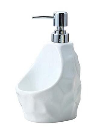 Flacon en latex céramique pour shampoing