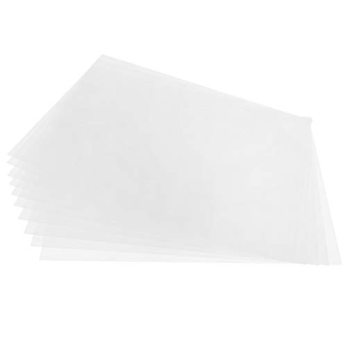 Druckbare Schrumpffolien, 10 Stück Schrumpffolien Papiere Schrumpffolien Kit Wärmeschrumpfbare Folie Lackierbare semitransparente DIY für Kinder Kreatives Basteln