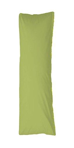 Bellana Seitenschläferkissen Bezug Stillkissen Mako Jersey 40x140 cm Farbe: moos