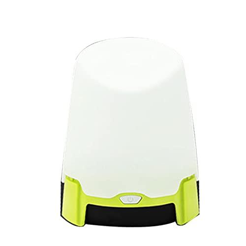 QKFON Linterna de camping, mini linternas LED portátiles coloridas al lado de la lámpara para senderismo al aire libre, con pilas