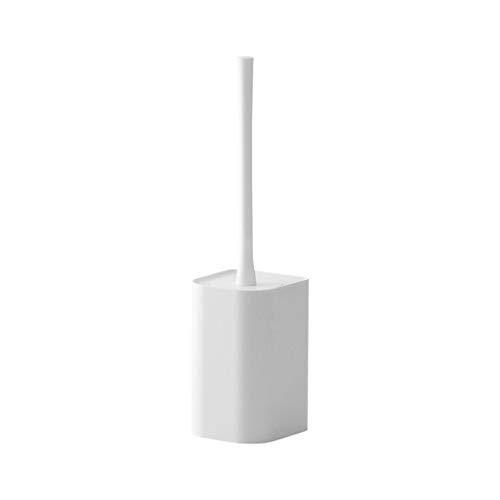 Aan de muur bevestigde toiletborstel zonder ponsen gewoon toilet zachte borstel wc lange steel toiletborstel wit