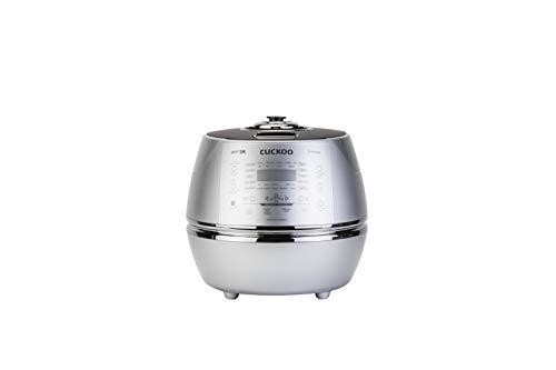 CUCKOO CRP-DHSR0609F Dampfdruck Reiskocher Schnellkochtopf & Schongarer, Edelstahl, programmierbar