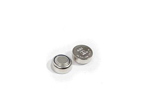 Camelion - C63 2 x AG3/LR41 Piles alcalines 1,5 V pour montre, pointeur laser, etc.. SR41/392 1,5 V Pile Bouton